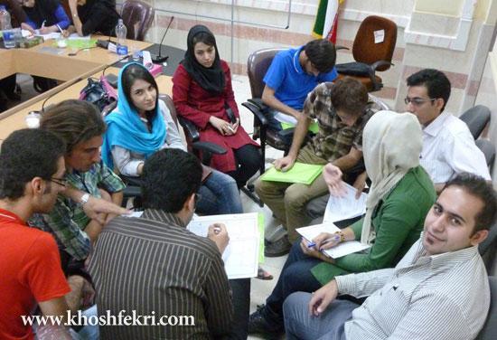 گزارش برگزاری اولین کارگاه تبدیل ایده های خلاقانه به کسب و کارهای پر رونق