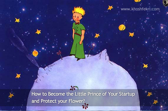 How to Become the Little Prince of Your Startup and Protect your Flower?