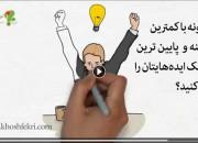 ویدیو: چگونه با کمترین هزینه و پایین ترین ریسک، ایدههایتان را اجراکنید؟